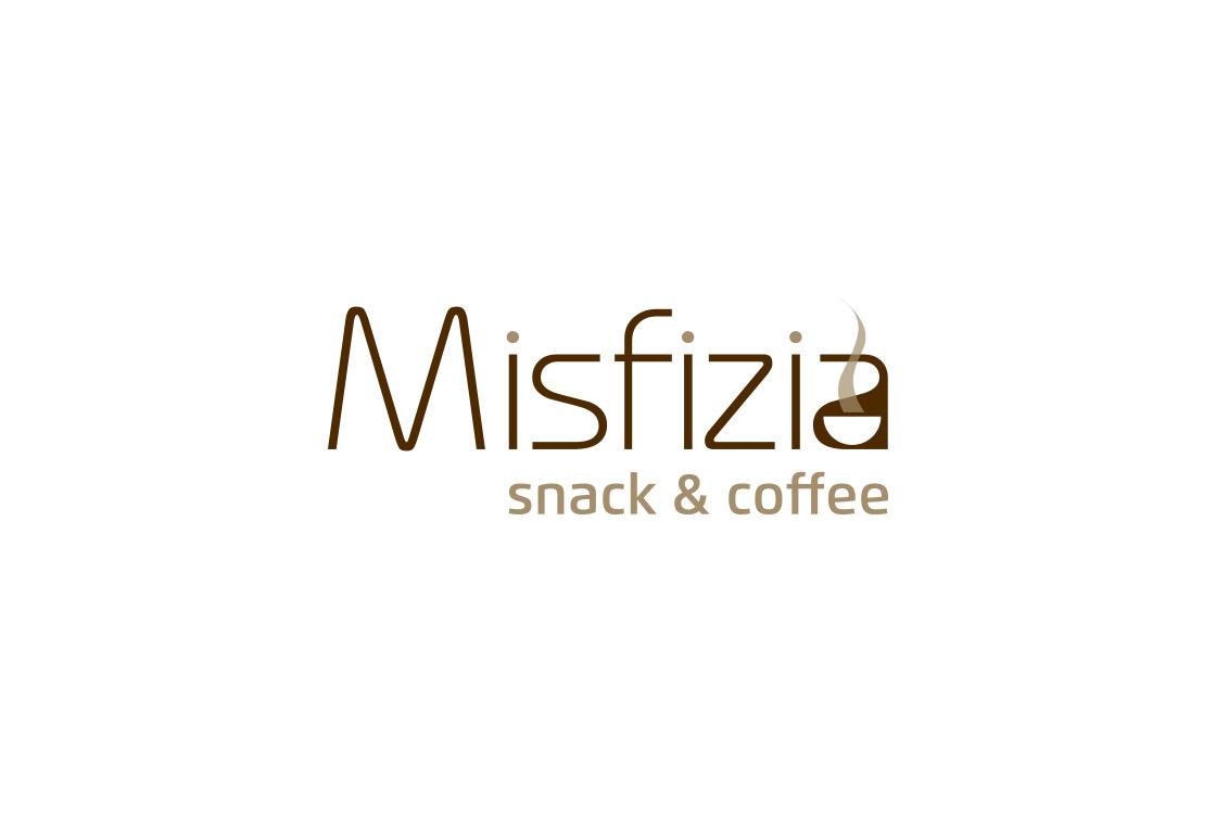 logotipo snack coffee misfizia